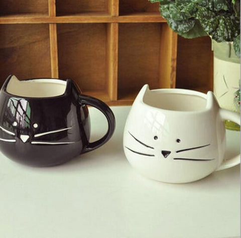 Ceramic Kitty Cup