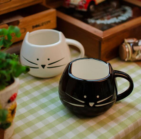 Image of Ceramic Kitty Cup