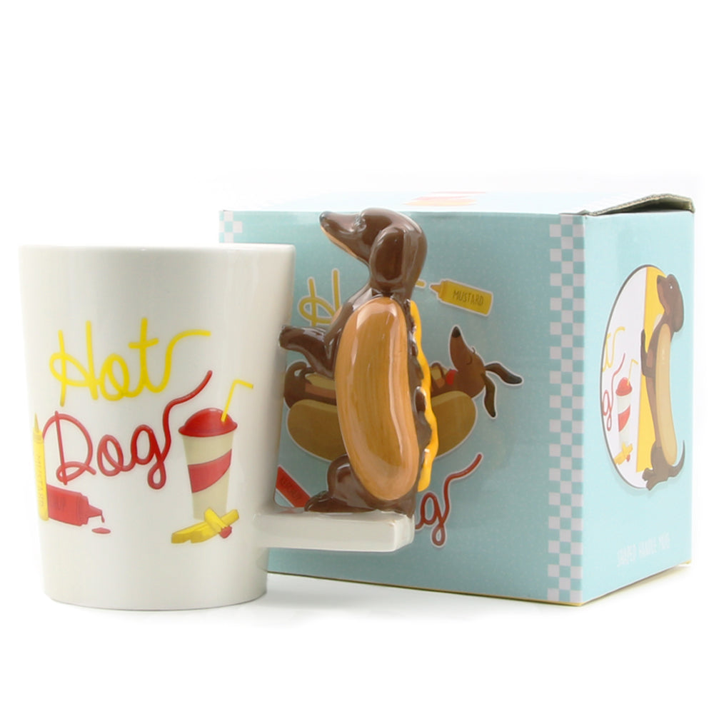 Hot Dog Novelty Mug
