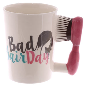 Chic Hair Brush Mug