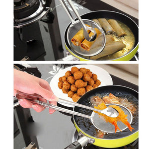 Fried Food Strainer Tong