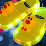 Smile Kids LED Light Slippers