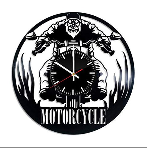 Classic LED Biker Wall Clock