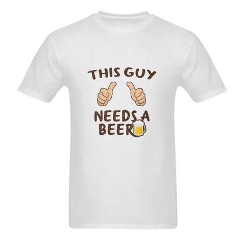 Image of Guy Needs A Beer Tee (Nine Yards Exclusive)