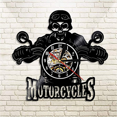 Image of Classic LED Biker Wall Clock
