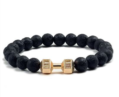 Image of Dumbbell Lava Bracelet