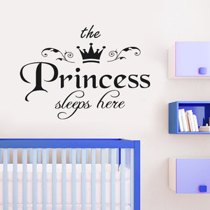 The Princess Wall Sticker