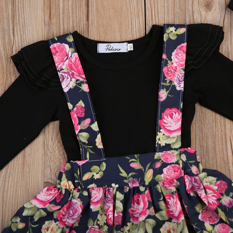 Image of Sweet Rosy Romper