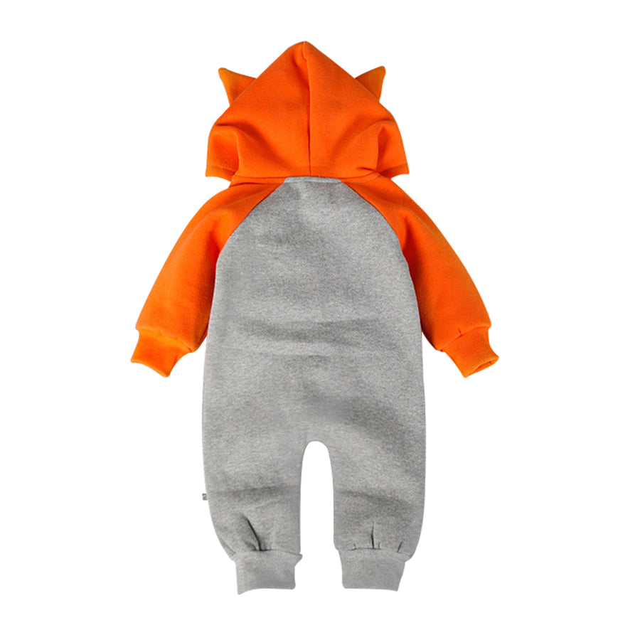 Adorable Fox/Bear Baby Jumpsuit