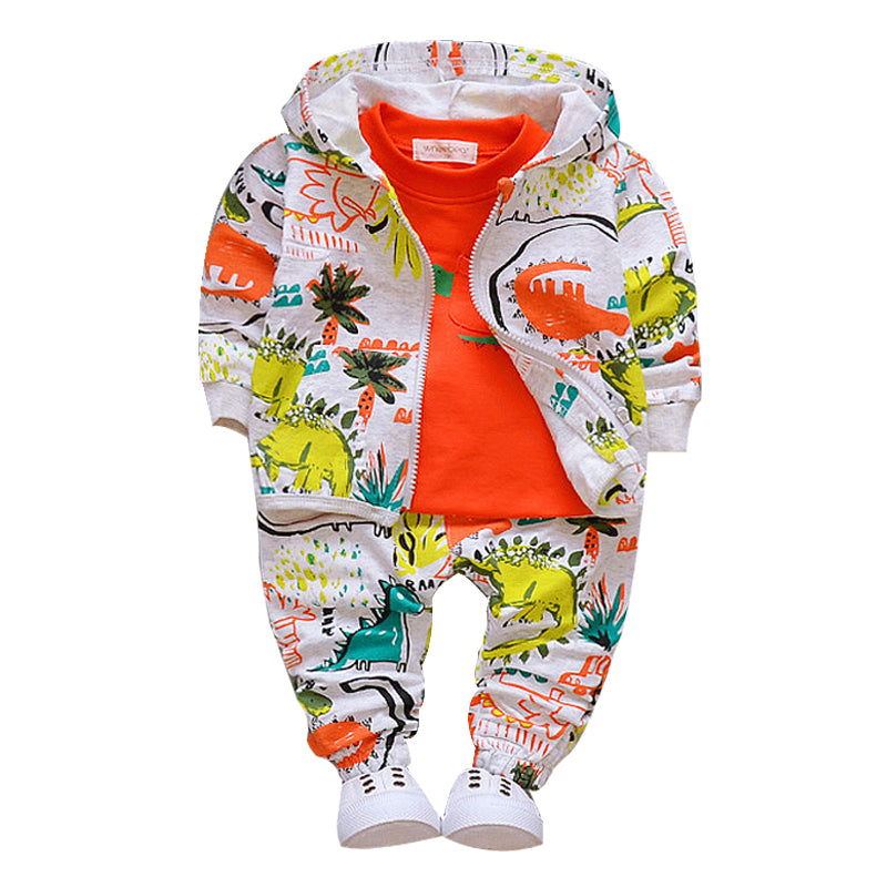 8b180c5f1 Dino Print Baby Outfit. Tap to expand