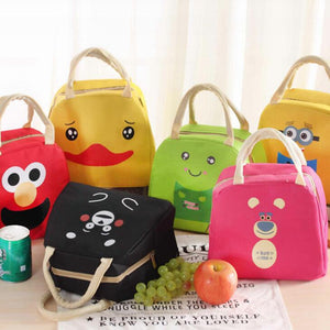 Adorable Cartoon Cooler Bag