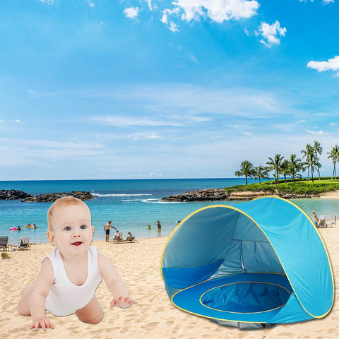 Image of Enjoyable Baby Beach Tent