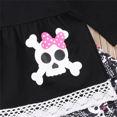 Image of Toddler Lace Skull Set
