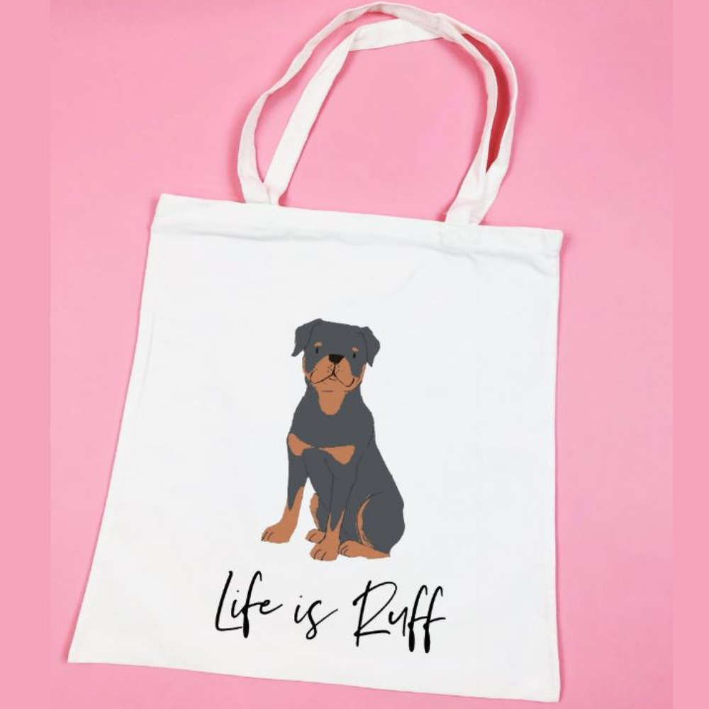 Personalized Dog Tote Bag