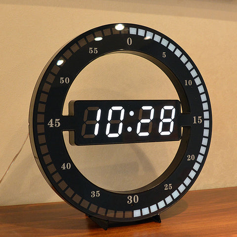 Minimalist Digital Wall Clock