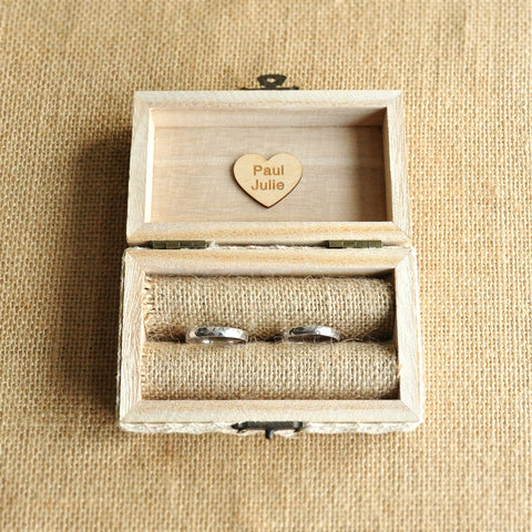Image of Personalized Ring Holder Box
