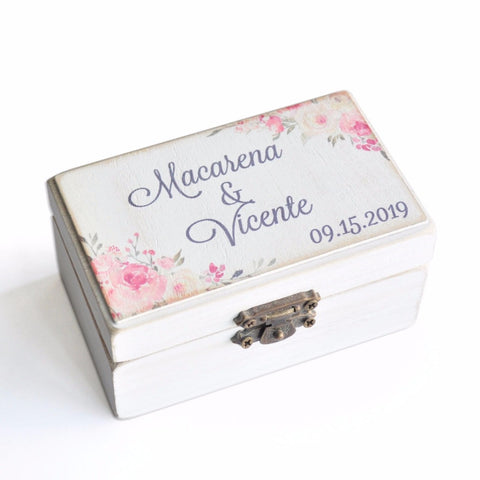 Personalized Ring Holder Box
