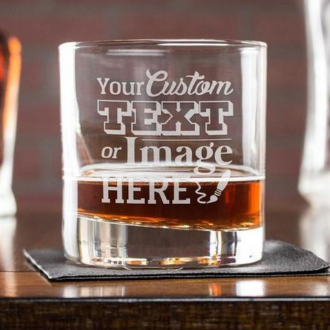 Image of Customised Scotch Glass