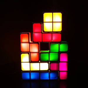 LED DIY Tetris Light