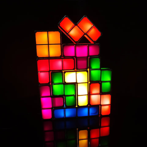 Image of LED DIY Tetris Light