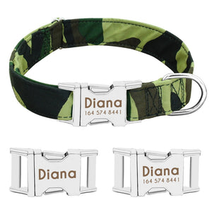 Personalised Patterned Dog Collar