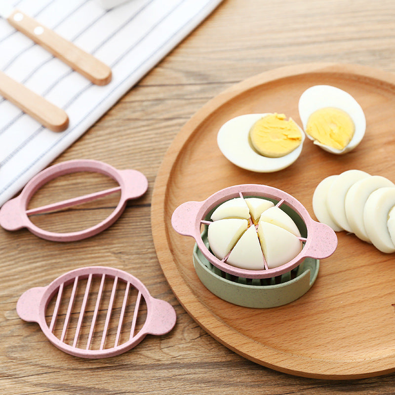 Multi-Functional Egg Cutter