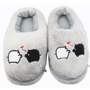 Electric Plush Slippers