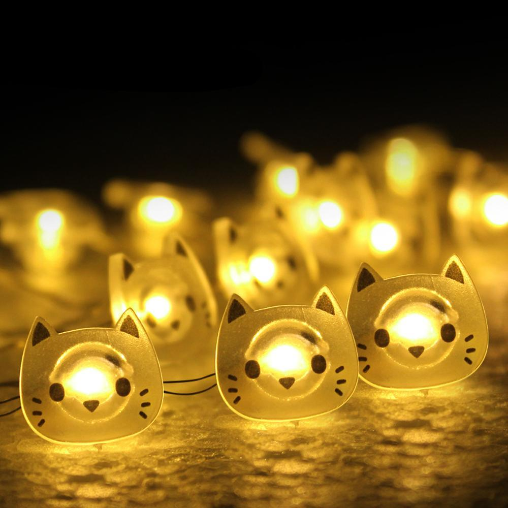 Adorable Kitty Fairy Lights