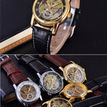 Forsining Gold Luxury Watch