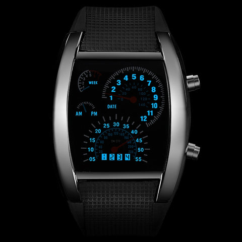 Image of Fashionable Men's Sports Watch