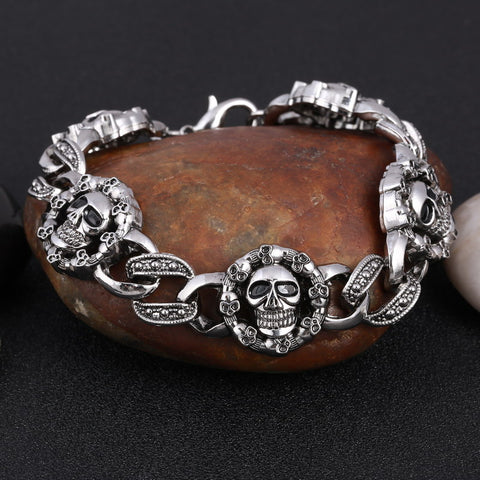 Image of Gothic Chain-Link Bracelet