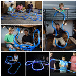 Interactive Pipe Racing Track