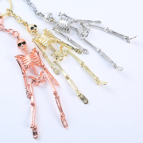 Quirky Skeleton Keychain