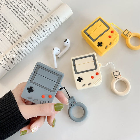Image of Gameboy Design Apple Airpods Casing
