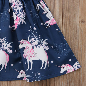 Little Unicorn Party Dress