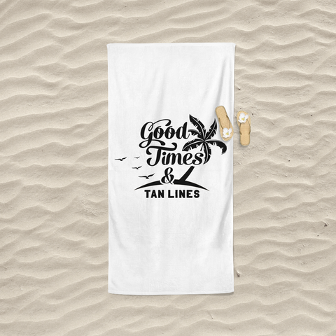 Good Times & Tan Lines Towel (Nine Yards Exclusive)