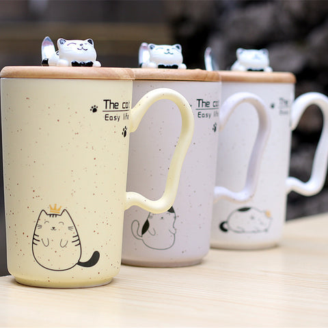 Sesame Kitty Mug (Limited Edition)