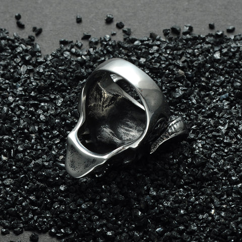 Image of Gothic Goat Skull Ring