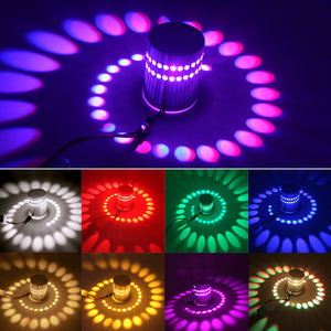 Spiral LED Light Fixture