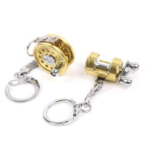Fishing Reel Keychain