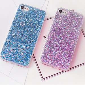 Shimmery Glitter iPhone Case