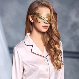 Luxurious Silk Sleeping Mask