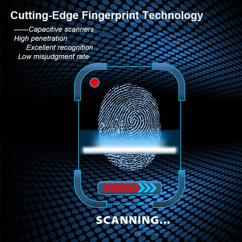 Image of Smart Fingerprint Padlock