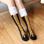 Quirky Animal Leg Knee Socks