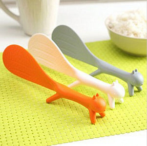 Adorable Squirrel Rice Paddle