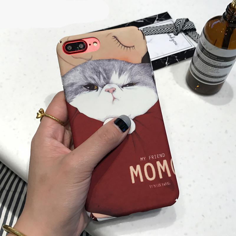 Grumpy Kitty iPhone Case