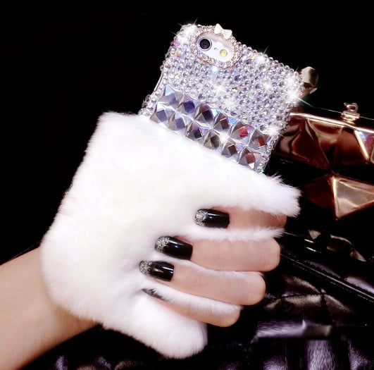 Furry Bling Phone Case
