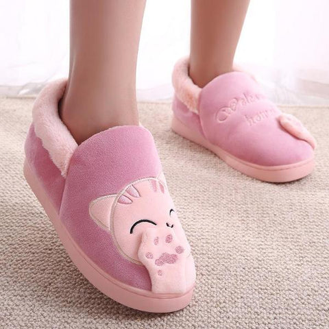 Kitty Home Slip-Ons