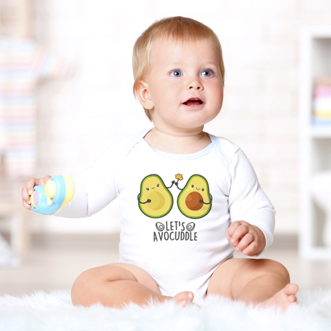 Image of Let's Avocuddle Organic Onesie (Nine Yards Exclusive)