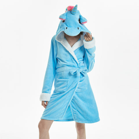 Image of Comfy Galaxy Unicorn Bathrobe